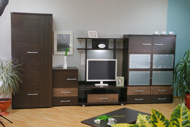 Корпусная Мебель Для Гостиной Венге Москва